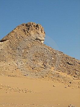 Desert Rock In Egypt Stock Image - Image: 8784871