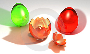 Colored Easter Eggs Stock Image - Image: 8785911