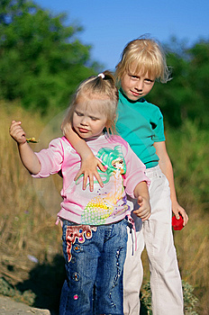 Little Girls Royalty Free Stock Photos - Image: 8788328