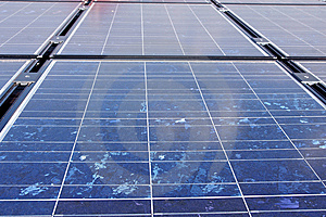 Solar Panels On The Roof. Royalty Free Stock Photos - Image: 8791268