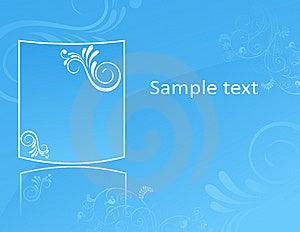 Blue Wallplaper Stock Photos - Image: 8792013