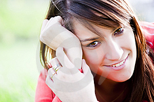 Smiling Girl Royalty Free Stock Photography - Image: 8792037