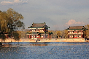 Temple In The Summer Palace,beijing Stock Image - Image: 8793571