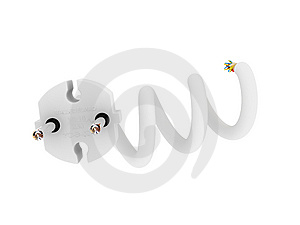 Electric Plug Royalty Free Stock Photo - Image: 8794055