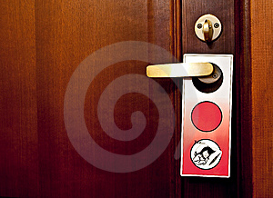 Not Disturb Royalty Free Stock Photography - Image: 8794757