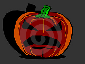 Big Halloween Pumpkin Royalty Free Stock Images - Image: 8796049