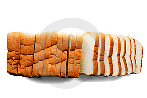 Fresh Bread Slices Royalty Free Stock Images - Image: 8796469