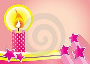 Candle Background Royalty Free Stock Photos - Image: 8796898