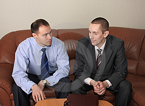 Discussion Of Agreement Royalty Free Stock Images - Image: 8797819