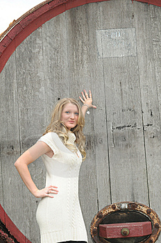 Blond Teen Royalty Free Stock Photo - Image: 8797925