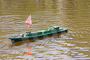 Model Warships Royalty Free Stock Images - Image: 8798969