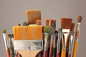 Set Brushes Royalty Free Stock Image - Image: 8799106
