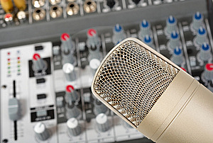 Microphone Royalty Free Stock Images - Image: 8799399