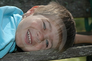 Smiling Boy Royalty Free Stock Photography - Image: 881247