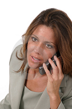 Executive Business Woman With Cellphone 4 Stock Images - Image: 885824
