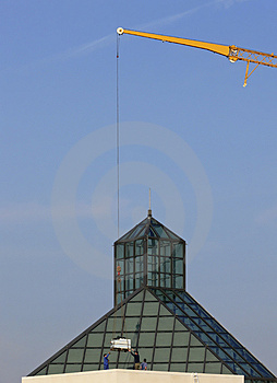 Crane Stock Image - Image: 889161