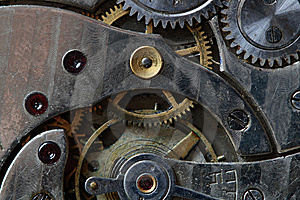 Watch Mechanism Royalty Free Stock Photos - Image: 8800308