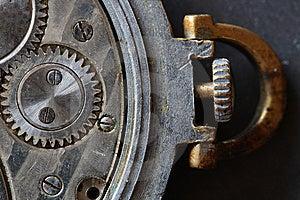Meccanismo Dell'orologio Immagini Stock Libere da Diritti - Immagine: 8800319