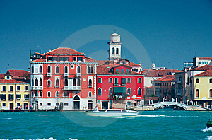 Colourful Venice Embankment Sea View Royalty Free Stock Photo - Image: 8804905
