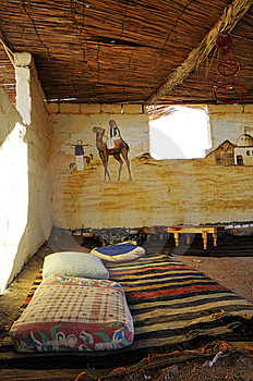 Bedouin's Home Royalty Free Stock Image - Image: 8807786