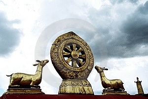 The Jokhang Temple Stock Photography - Image: 8808822