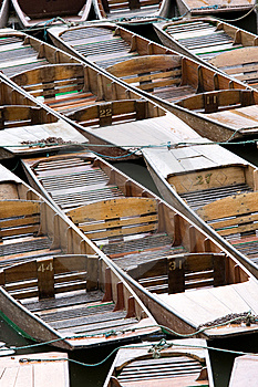 Punts Stock Photography - Image: 8808872