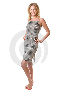 Checkered Dress Royalty Free Stock Photo - Image: 8808875