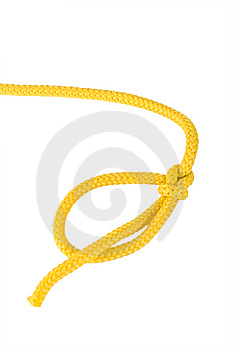 Climbing Knot Bowline Stock Photo - Image: 8810470
