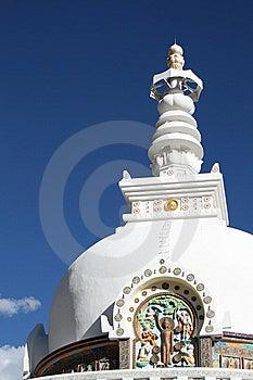 Shanti Stupa Stock Photography - Image: 8810572