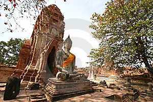 Monuments Of Buddha Stock Photo - Image: 8813370