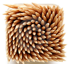 Confusion Toothpicks Royalty Free Stock Images - Image: 8814389