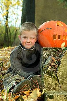 Halloween Boy Stock Photo - Image: 8814410