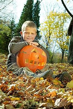 Halloween Boy Stock Images - Image: 8814434