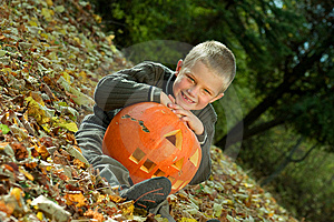 Halloween Boy Stock Image - Image: 8814501