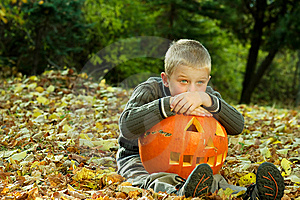 Halloween Boy Stock Photos - Image: 8814563