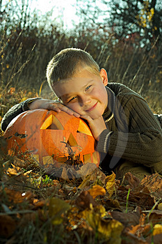 Halloween Boy Stock Images - Image: 8814624