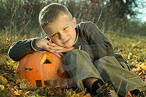 Halloween Boy Royalty Free Stock Photography - Image: 8814677