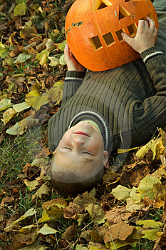 Halloween Boy Stock Image - Image: 8814791