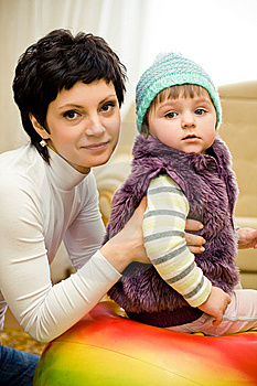 Mother And Daughter Royalty Free Stock Image - Image: 8815226