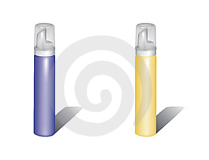 Spray Tube Royalty Free Stock Image - Image: 8820016
