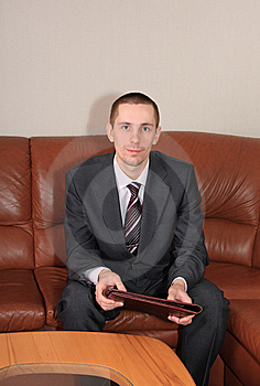Businessman. Stock Image - Image: 8821441