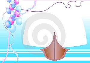 Ribbons And Balls Royalty Free Stock Photography - Image: 8823447