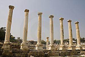 Beit She'an Stock Photos - Image: 8824223