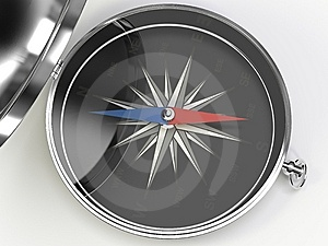 Metall Compass Stock Images - Image: 8825364