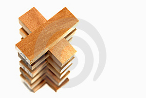 Wood Block Series 5 Stock Image - Image: 8825501
