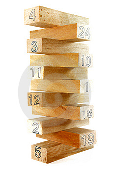 Wood Block Series 5 Royalty Free Stock Image - Image: 8825616