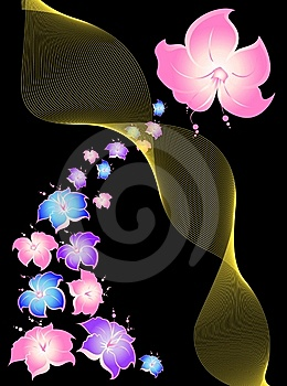 Flower Background Royalty Free Stock Photos - Image: 8825808