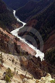 Yellowstone River Stock Image - Image: 8826561
