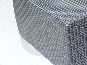 Side View Of A Patterned Box (middle In Focus) Stock Photo - Image: 8828950