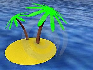 Tropic Island Royalty Free Stock Photography - Image: 8831297